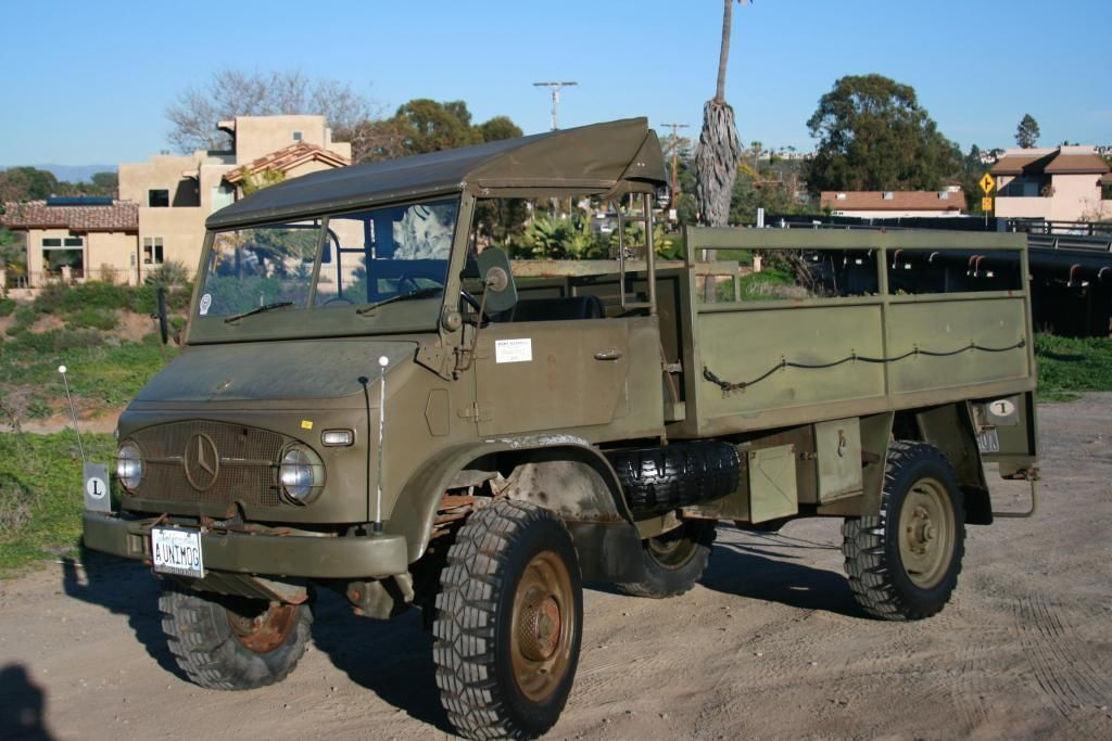 1968 mercedes unimog s 404 1 pritsche troop carrier for Mercedes benz military vehicles