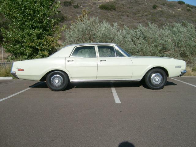 Cash For Cars San Diego >> 1968 Mercury Montego 4 Door, All Origional Condition And A California Car! - Classic Mercury ...