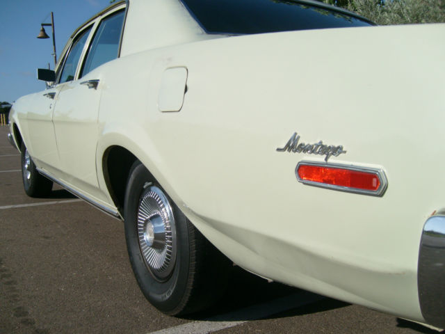 Cash For Cars San Diego >> 1968 Mercury Montego 4 Door, All Origional Condition And A ...