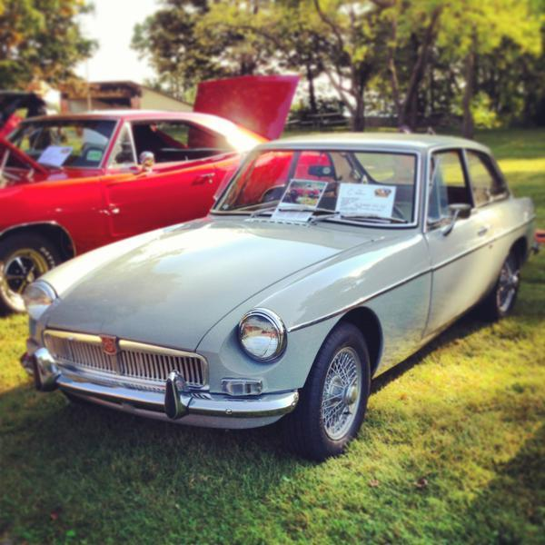 1968 MGBGT with OVERDRIVE - Classic MG MGB 1968 for sale