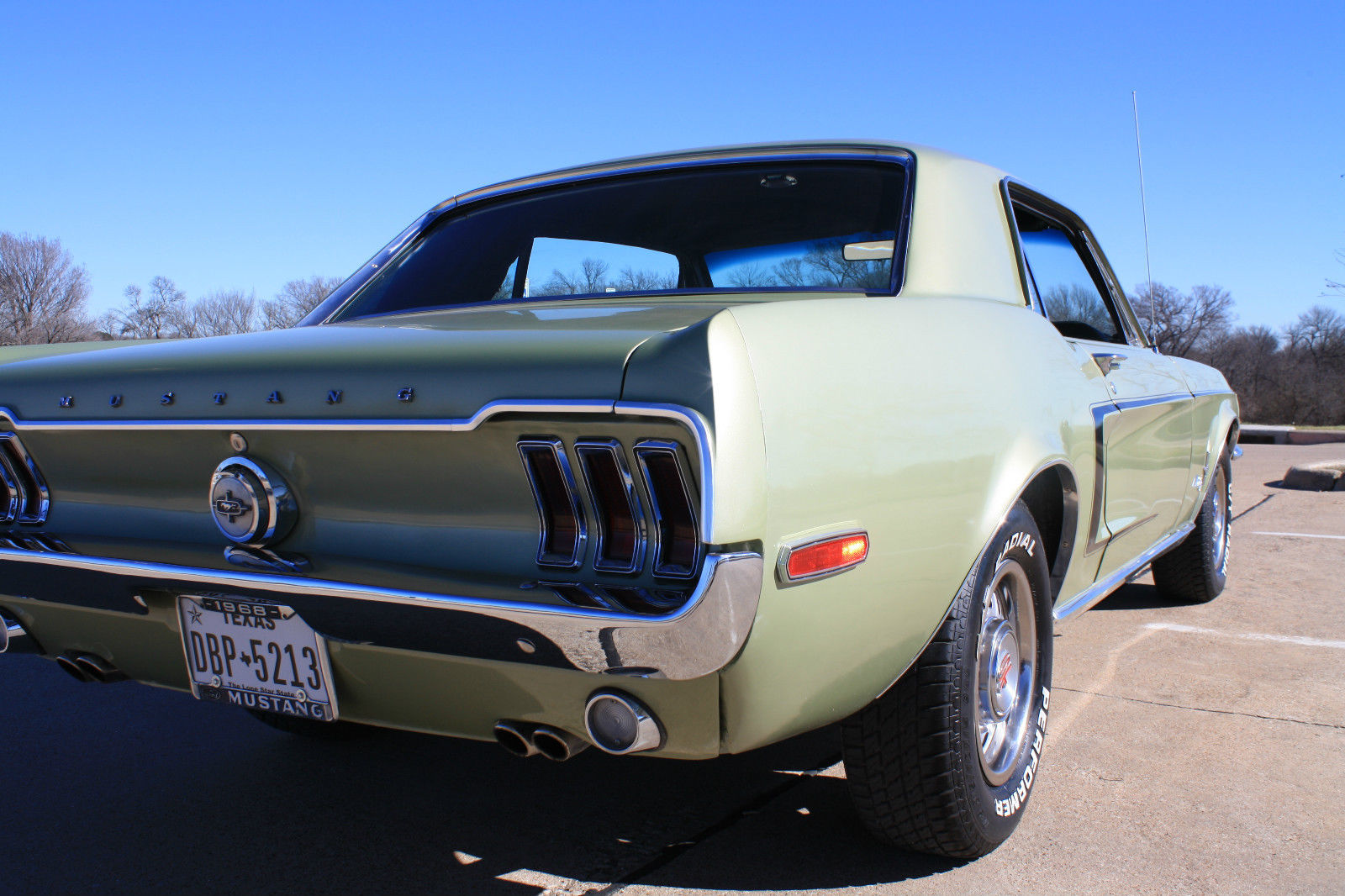 1968 mustang fully restored classic ford mustang 1968 for sale. Black Bedroom Furniture Sets. Home Design Ideas