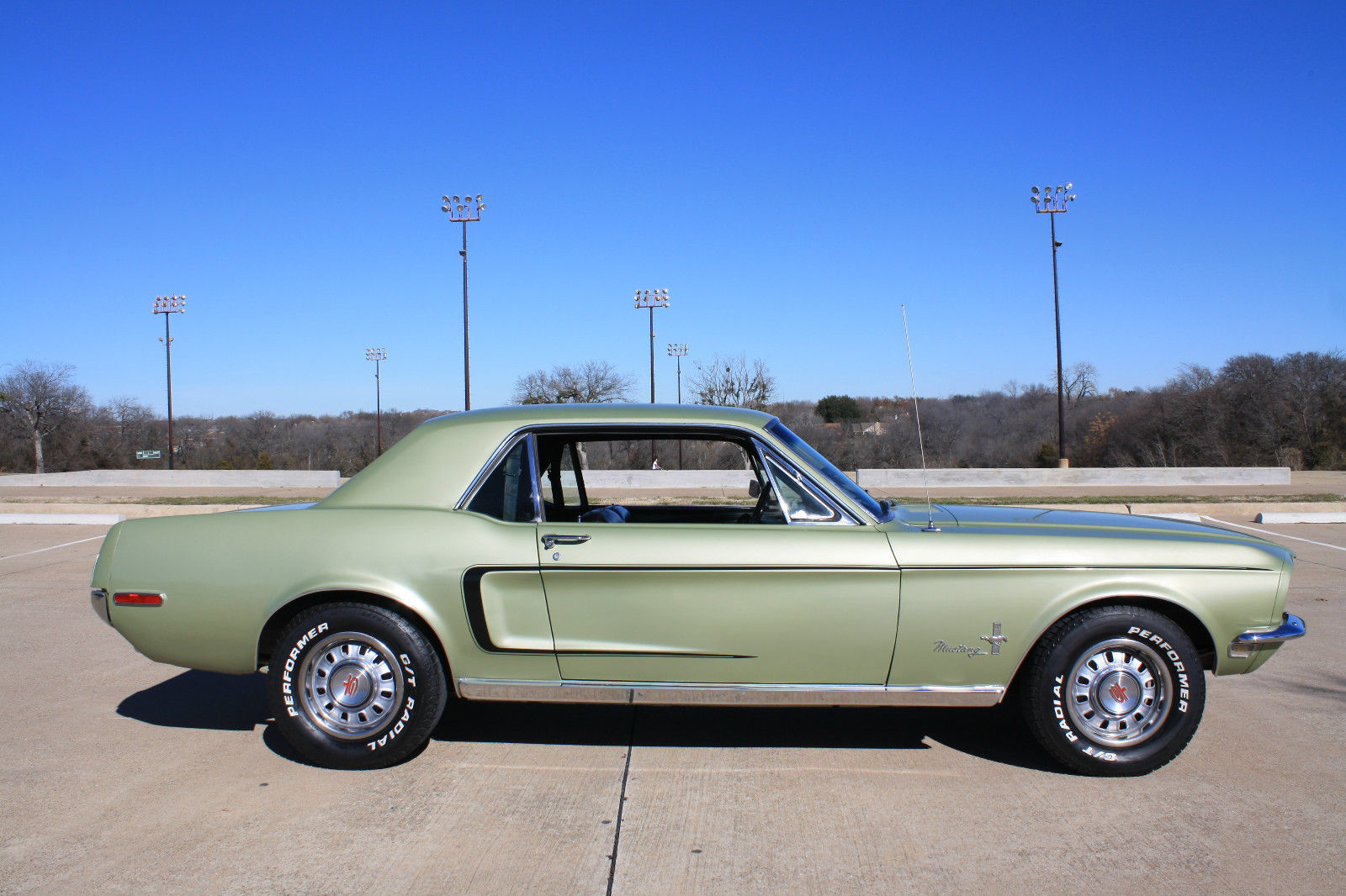 1968 Mustang Fully Restored Classic Ford Mustang 1968