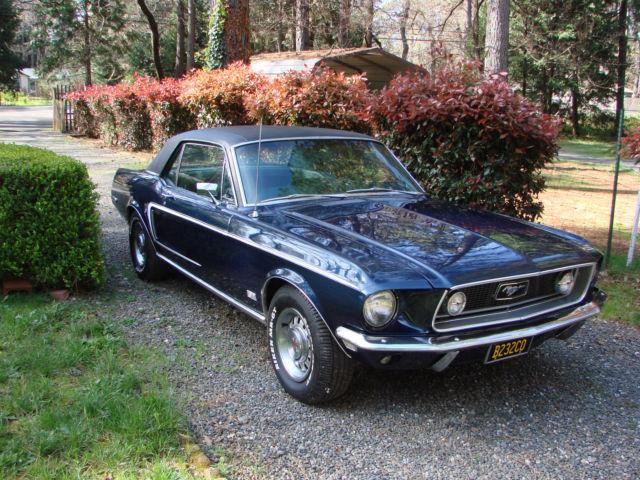 1968 Mustang 390