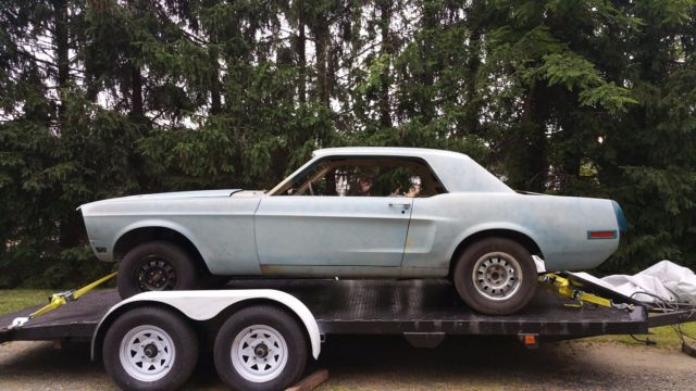 1968 Mustang Automatic