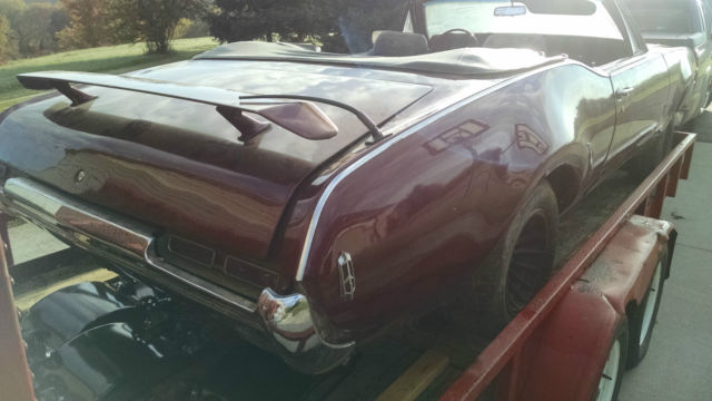 1968 Olds 442 Convertible - Project / Parts Car - Classic