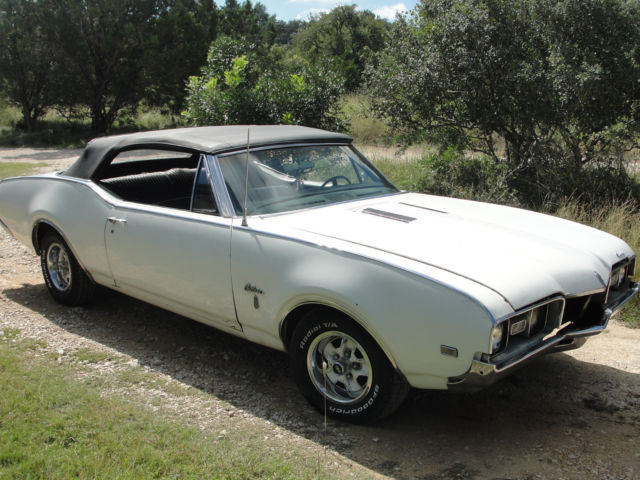 19680000 Oldsmobile Cutlass S Convertible 68 Olds
