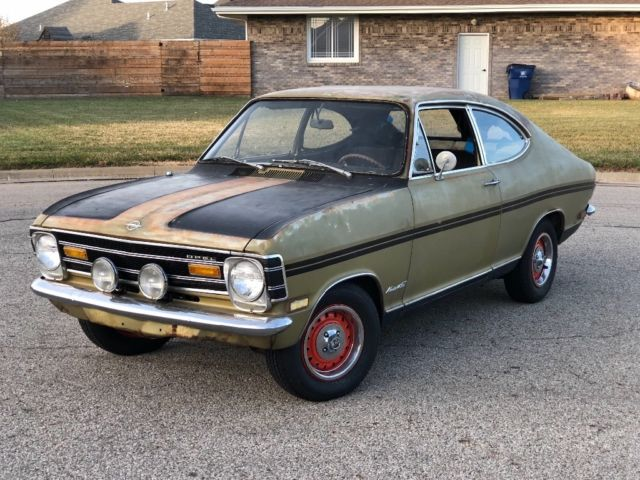 1968 opel kadett rallye runs drives project w parts car bring a trailer classic opel. Black Bedroom Furniture Sets. Home Design Ideas