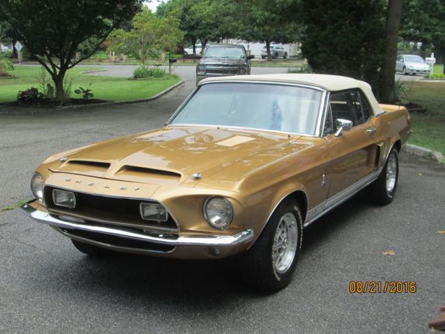 1968 shelby gt350 convertible classic ford mustang 1968 for sale. Black Bedroom Furniture Sets. Home Design Ideas