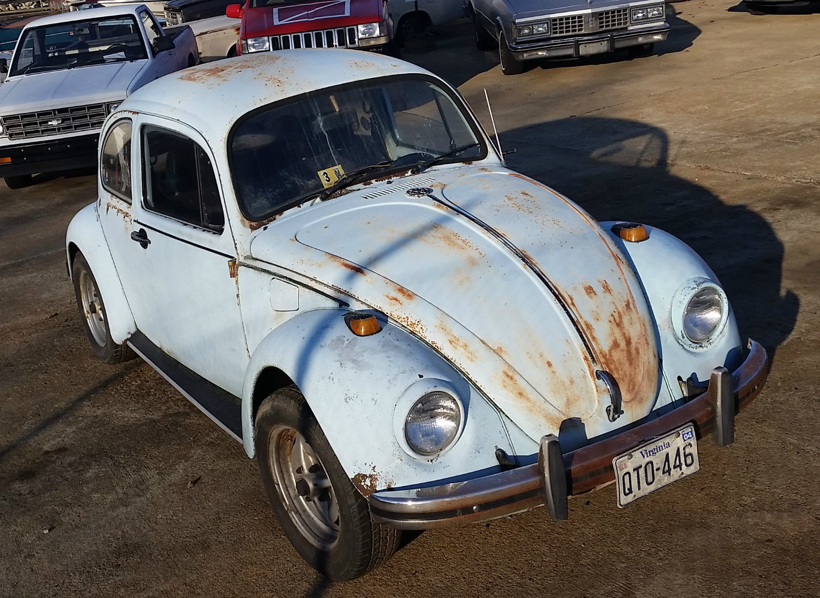 1968 Volkswagen Beetle Barn Find Many Upgrades