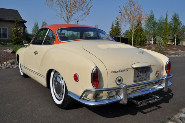 1968 Volkswagen Karmann Ghia VW Coupe 1600 German Sports Car rat rod Type III - Classic Other ...