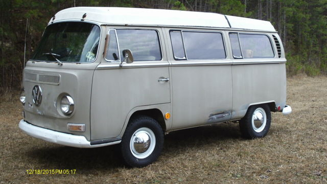 1968 vw bus camper very early 68 built 9 20 1967 garage