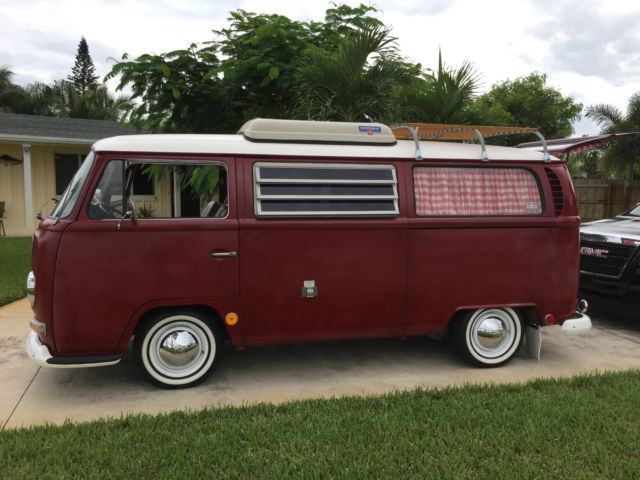 vw camper bus bay window classic volkswagen busvanagon   sale
