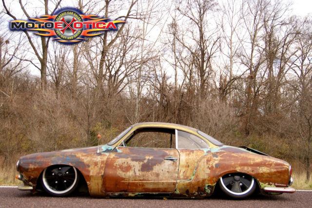 1968 VW Karmann Ghia Custom Rat Rod from Gas Monkey Garage, Fast N Loud Porsche - Classic Other ...