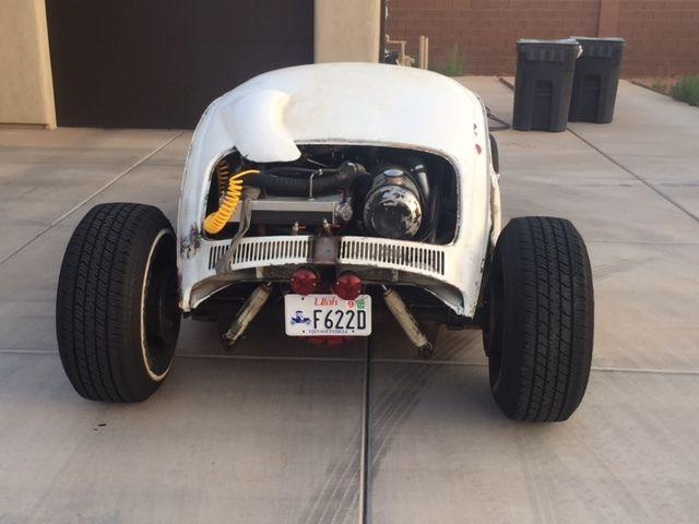 vw rat rod volksrod tube chassis  twin turbo hot rod ratrod classic volkswagen beetle