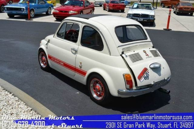 1969 abarth used manual coupe classic fiat 500 1969 for sale. Black Bedroom Furniture Sets. Home Design Ideas