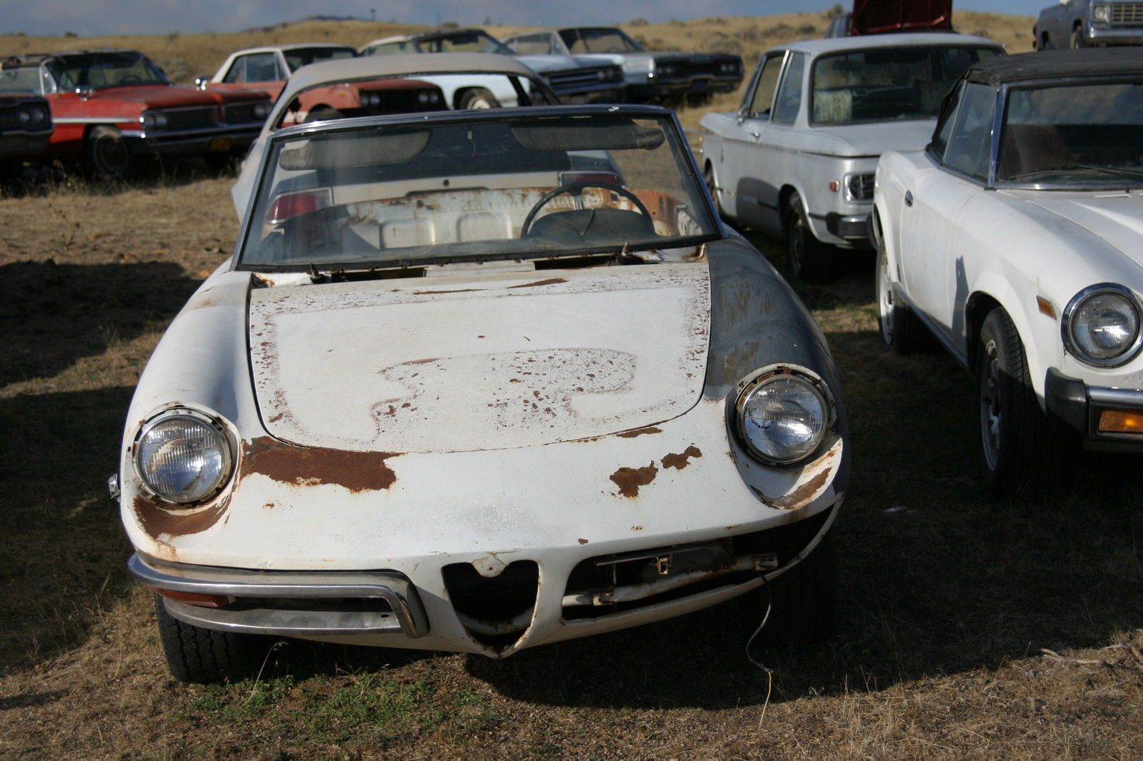 1969 alfa romeo duetto spiders 2 complete cars along. Black Bedroom Furniture Sets. Home Design Ideas