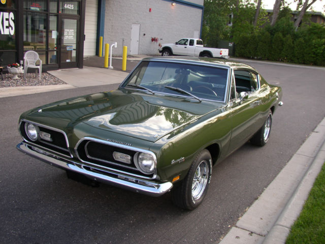Classic Cars For Sale Mn >> 1969 Barracuda Formula S 340 4 speed - Classic Plymouth ...