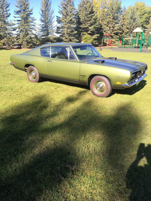 1969 Barracuda M Code 440 Fast back - Classic Plymouth Barracuda 1969 for sale