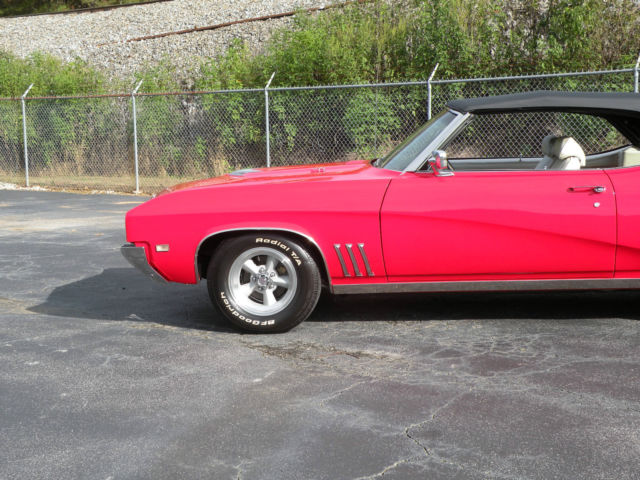 Buick Skylark Gran Sport Gs Convertible Automatic Factory Air Red on 1969 california gs