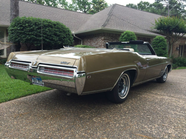 1969 Buick Wildcat Convertible Restored Antique Gold Off