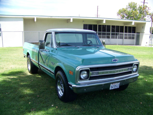 1969 C20 Custom Chevrolet Chevy Truck Longbed California