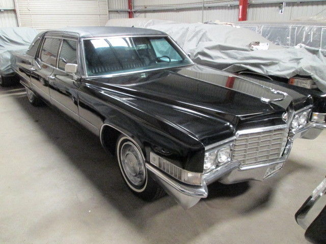 Limos For Sale >> 1969 Cadillac Fleetwood Formal Factory Series 75 Blind Quarter Landau Limousine - Classic ...