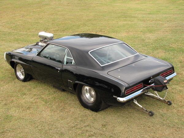 1969 CAMARO FRESH BUILT 540 INCH PRO STREET BLOWN SHOW CAR