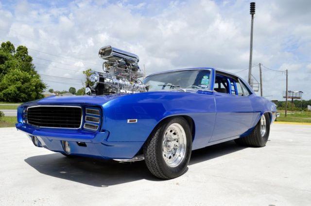 1969 Camaro Pro Street Over 1000hp 250k Build Isca Show