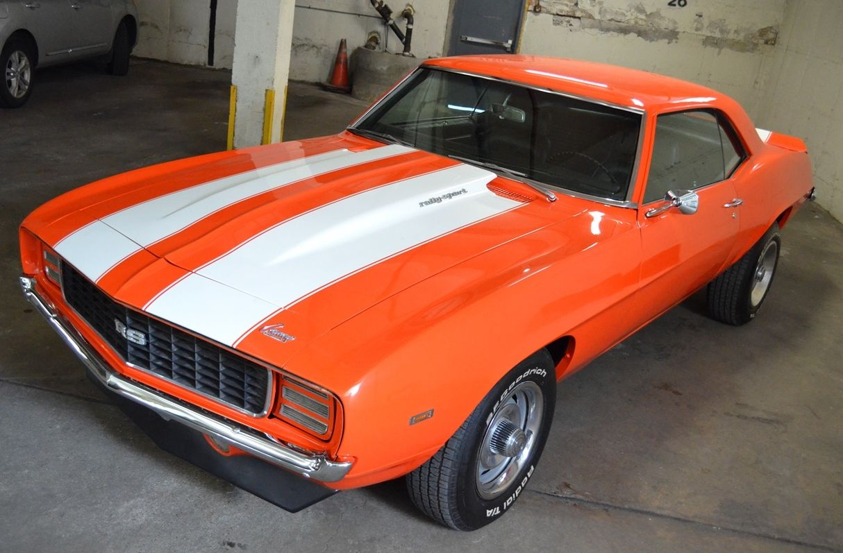 1969 Camaro Rs 4 Speed Hugger Orange No Reserve X