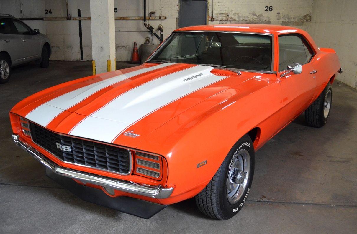 1969 Camaro Rs 4 Speed Hugger Orange No Reserve X