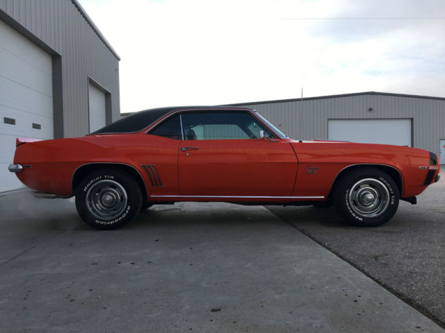 1969 Camaro Rs Hugger Orange Sale Upcomingcarshq Com