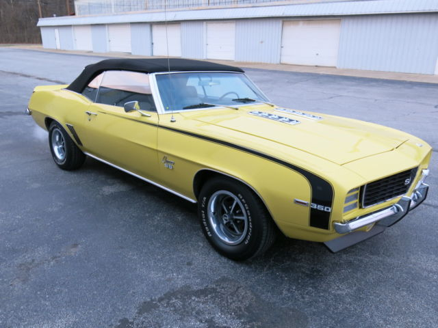 1969 camaro rs ss convertible x11 code auto 36 700 mi. Black Bedroom Furniture Sets. Home Design Ideas