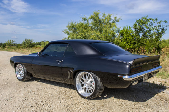 Classic Chevrolet Grapevine >> 1969 CAMARO RS/SS RESTOMOD TWO-TONE BLACK, CUSTOM INTERIOR - Classic Chevrolet Camaro 1969 for sale