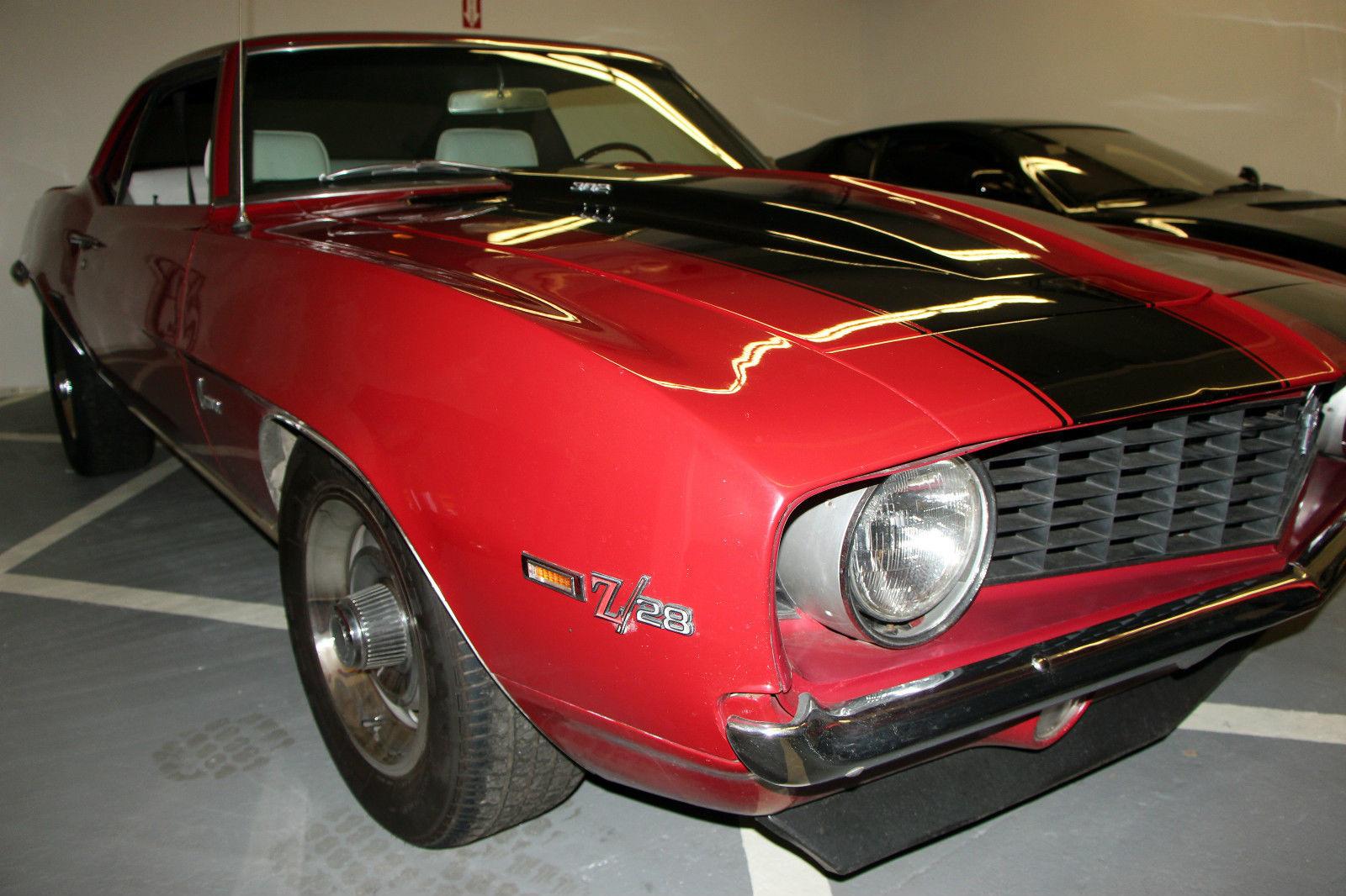 1969 Camaro Z28 302 Dz Matching S Orig Motor Exc