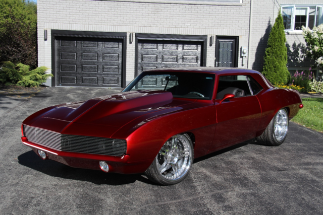 1969 Candy Apple Red Camaro One Of A Kind Custom 800hp