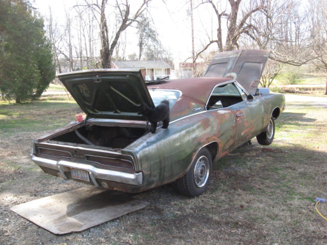 1969 Charger Barn Find General Lee Big Block Classic