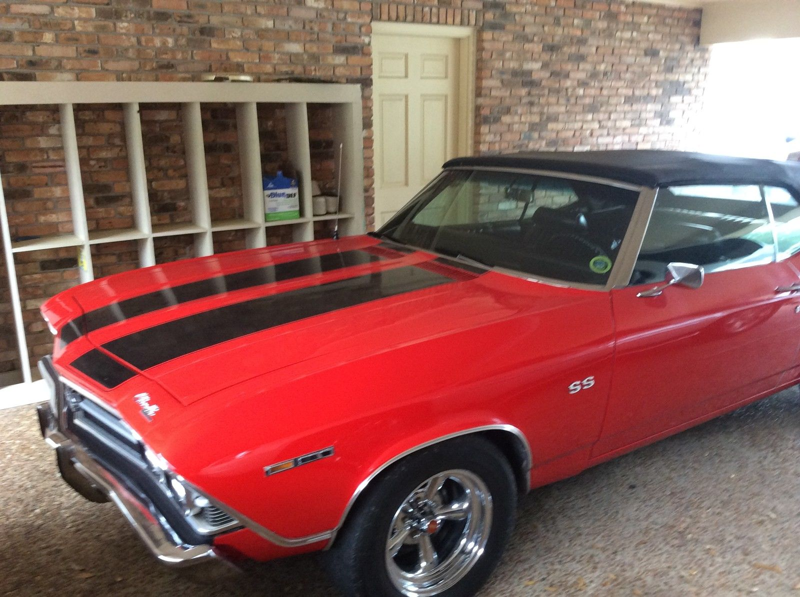 Chevelle Malibu Ss Soft Top Convertible Red With Black Stripes on 1970 Chevy Malibu