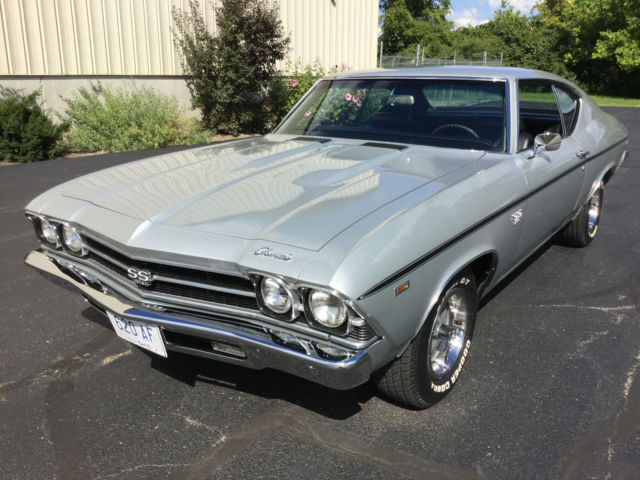 new styles 44cb8 a5bfe 1969 Chevelle SS 396 4 Speed, Cortez Silver, Frame Off ...