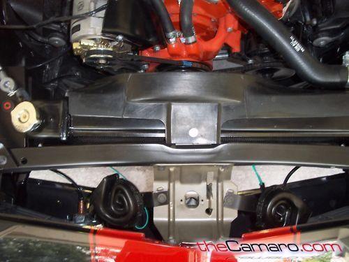 Baldwin Motion Air Cleaner : Chevrolet camaro baldwin motion speed frame off