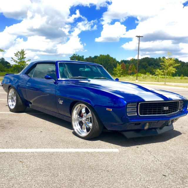 Pro Touring Wheels And Tires >> 1969 Chevrolet Camaro Pro Touring & LS Powered - Classic Chevrolet Camaro 1969 for sale