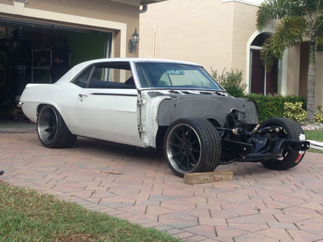 T56 Transmission For Sale >> 1969 Chevrolet Camaro Pro Touring Wilwood Ride Tech LS3 Twin Turbo T56 Magnum - Classic ...