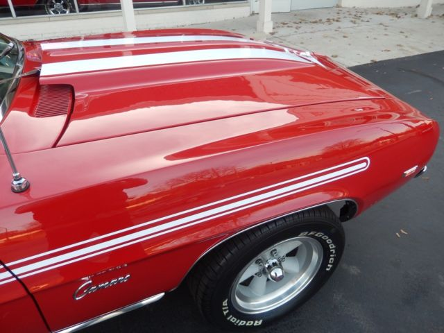 1969 Chevrolet Camaro Yenko tribute 427 ci Muncie 4 speed