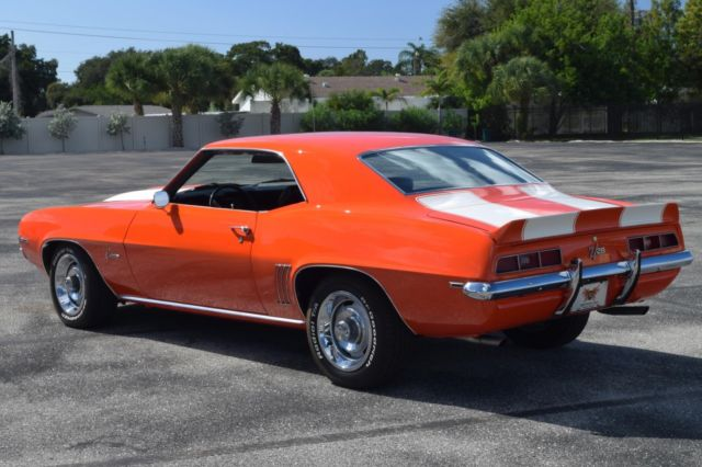 1969 Z28 Camaro Hugger Orange For Sale Autos Post
