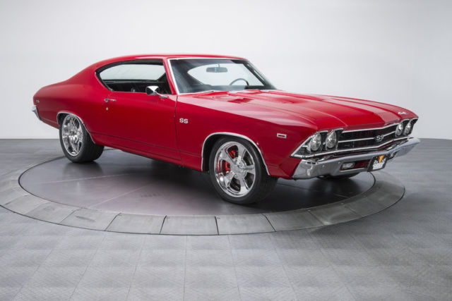 1969 Chevrolet Chevelle 85 161 Miles Tornado Red Hardtop