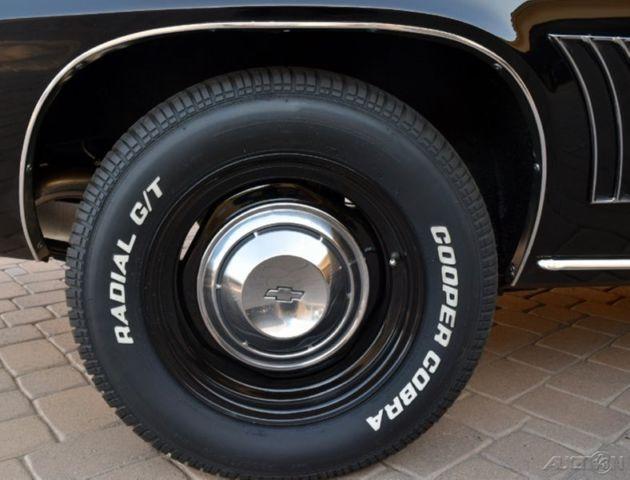 1969 Chevrolet Copo Camaro Tuxedo Black 427 425hp 69 Chevy