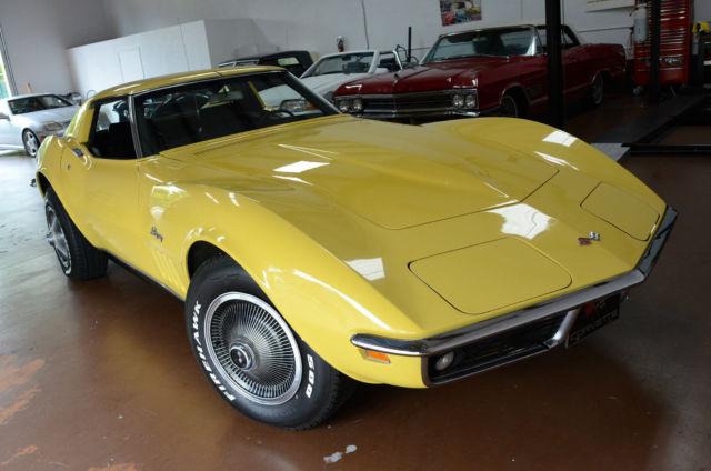 1970 Corvette Stingray For Sale >> 1969 Chevrolet Corvette Stingray C3 Daytona Yellow! not c3