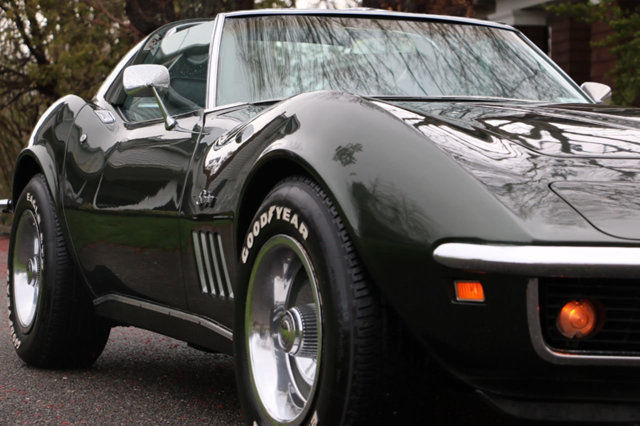 1969 chevrolet corvette stingray coupe for sale 350 auto air conditioning loaded classic. Black Bedroom Furniture Sets. Home Design Ideas