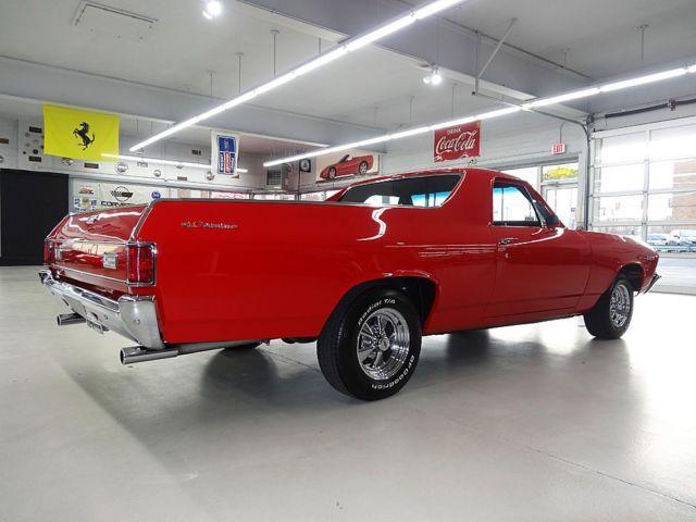 1969 Chevrolet El Camino Factory Ac Car Frame Off