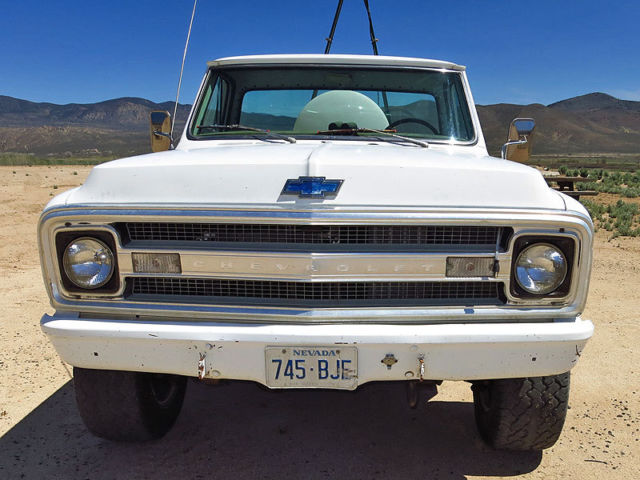 1969 chevrolet k20 4x4 pickup truck four wheel drive diesel a johnny cash truck classic. Black Bedroom Furniture Sets. Home Design Ideas