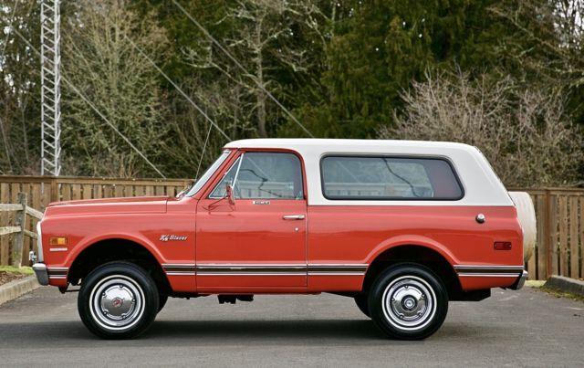 1969 Chevrolet K5 Blazer CST Sport Utility GMC Jimmy Bronco